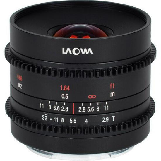 Laowa 9mm T2.9 Zero-D Cine - (MFT) NEW