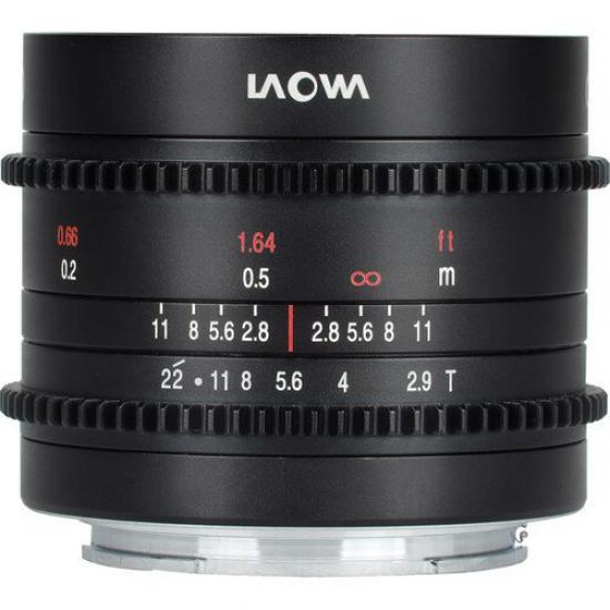 Laowa 9mm T2.9 Zero-D Cine - (Fuji X) NEW