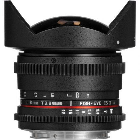 Samyang 8mm T3.8 UMC Fish-Eye CS II Lens (SONY E)
