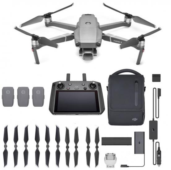 Mavic 2 Pro With Smart Controller Fly More Combo